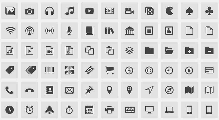 IcoMoon Icon Pack @fontface webfont free