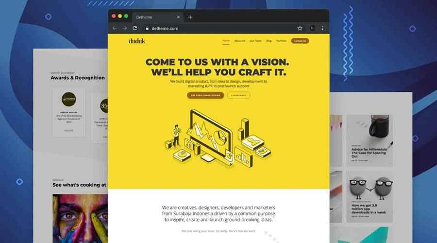 Duduk - Digital web design agency