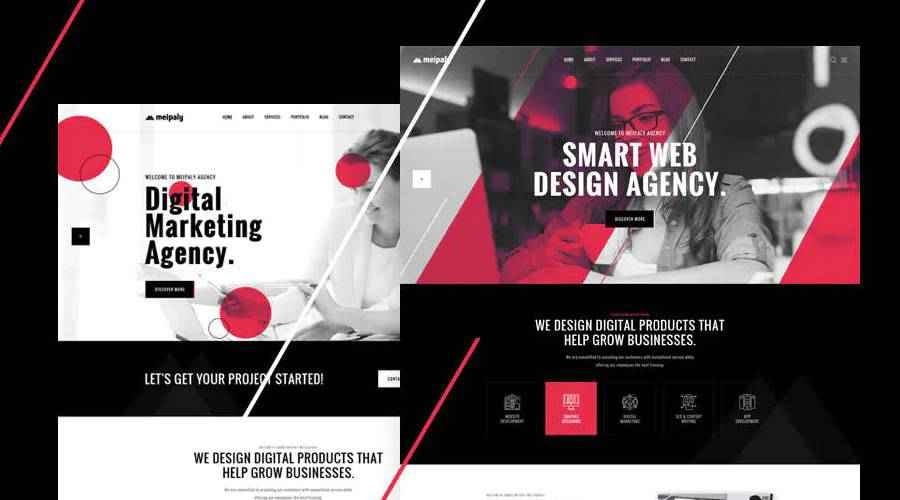 Meipaly Digital Services web design agency