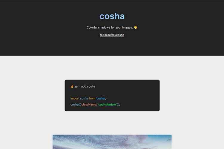Example from cosha