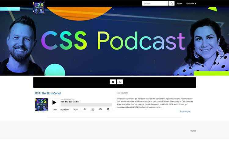Example from The CSS Podcast
