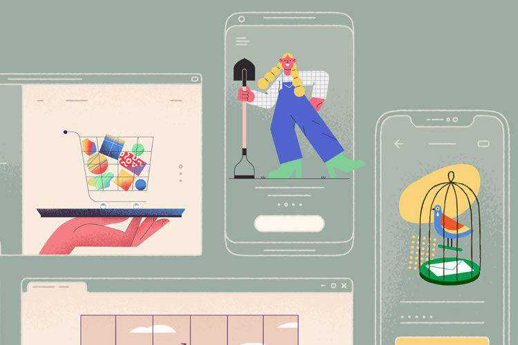 10 Sites for Downloading Completely Free Illustration Templates