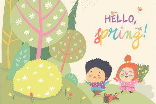 25 Free Vector Packs for Your Spring Designs