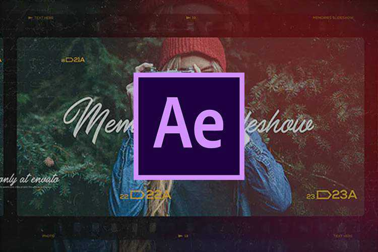 Example of 10 Best Slideshow & Gallery Templates for Adobe After Effects
