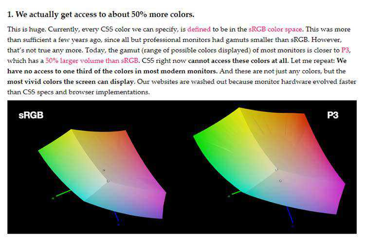 Example of LCH colors in CSS: what, why, and how?
