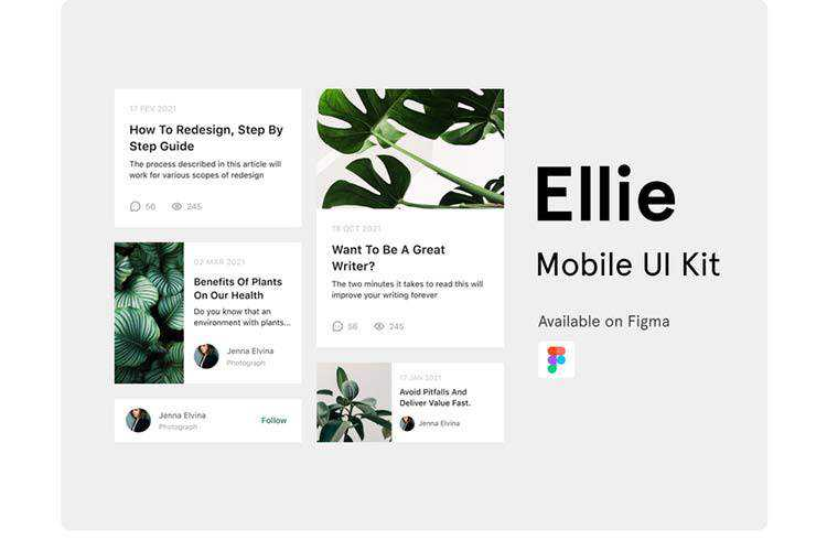 Example of Ellie UI Kit