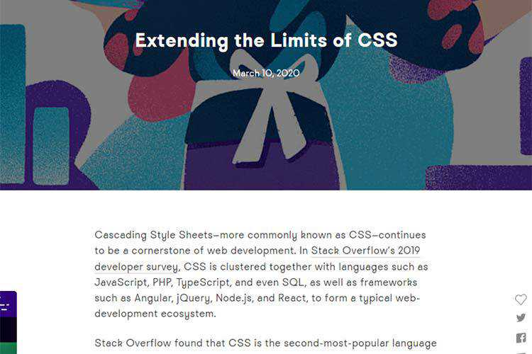 Example of Extending the Limits of CSS
