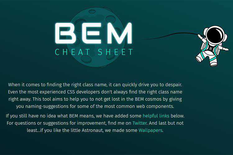 Example of BEM Cheat Sheet