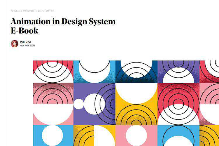 Example from Animation in Design System E-Book