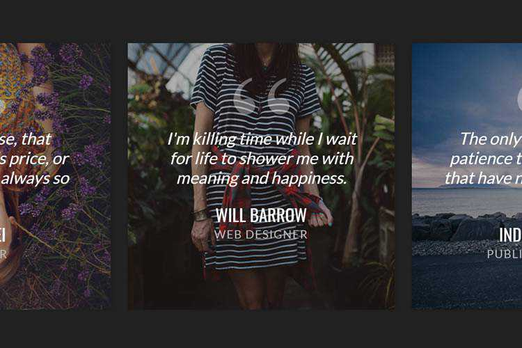 Example from Spread the Word: Beautiful Testimonial UI Examples