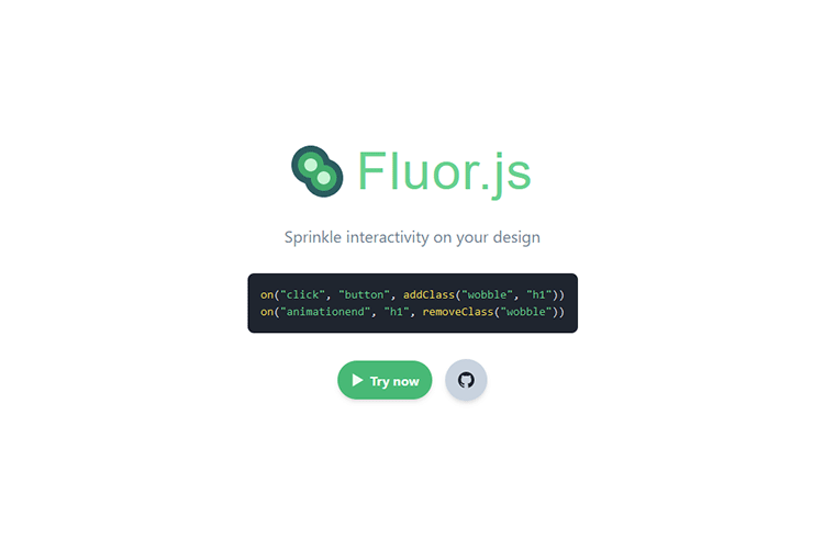 Example from Fluor.js