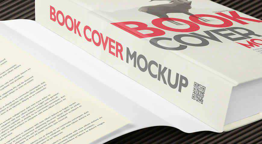 Book Photoshop PSD Mockup Template