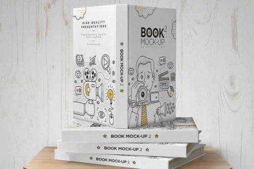 The 20 Best Photoshop PSD Mockup Templates for Books