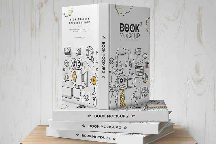 The 20 Best Book Mockup Photoshop Templates in 2021