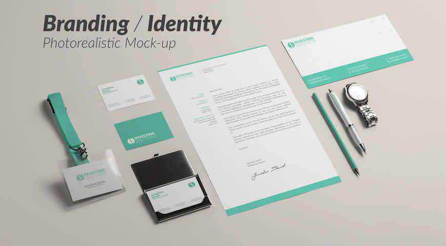 Branding Identity Photoshop PSD Mockup Template