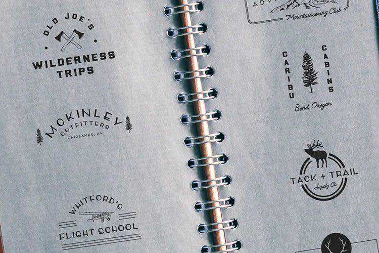 20 Beautifully Designed Logo Creator Kits & Templates