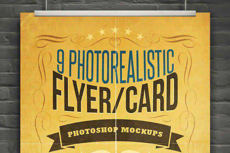 25 Photoshop PSD Flyer Mockup Templates in 2021