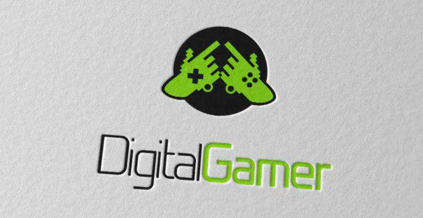 Digital Gamer Logo Template gamer video game