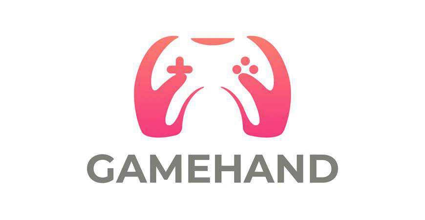 Gamer Joystick Logo Template video game