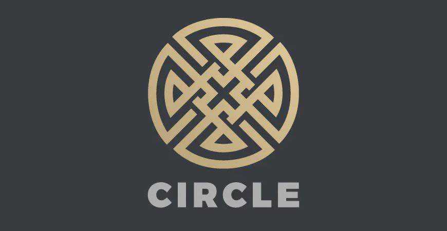 Infinity Cross geometric logo template