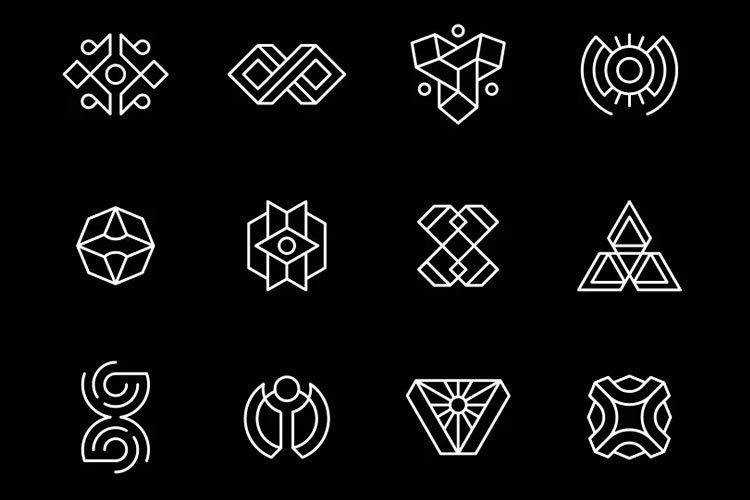 The 20 Best Geometric Logo Templates