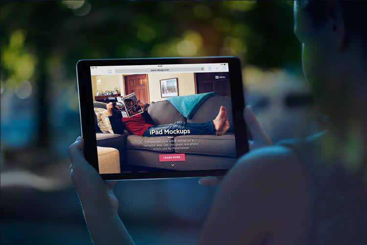 15+ iPad Mockup PSD Templates for Photoshop