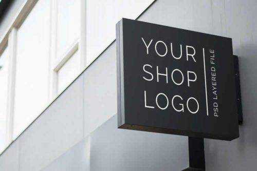 25 Photoshop PSD Mockup Templates for Showcasing Logo Designs
