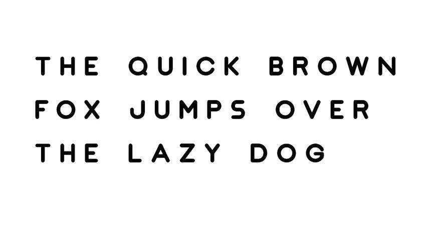 Jaquel Minimal Display logo font typeface logotype