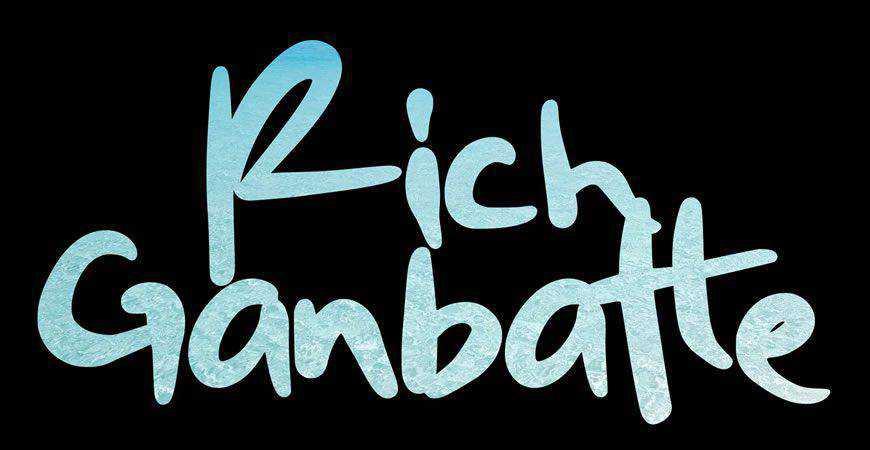 Rich Ganbatte Graffiti logo font typeface logotype