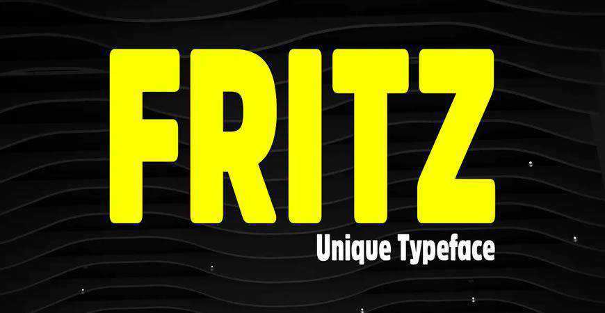 Fritz Rounded Display logo font typeface logotype