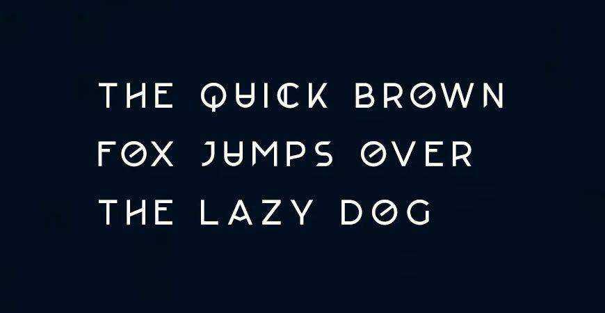 Augor Monogram logo font typeface logotype