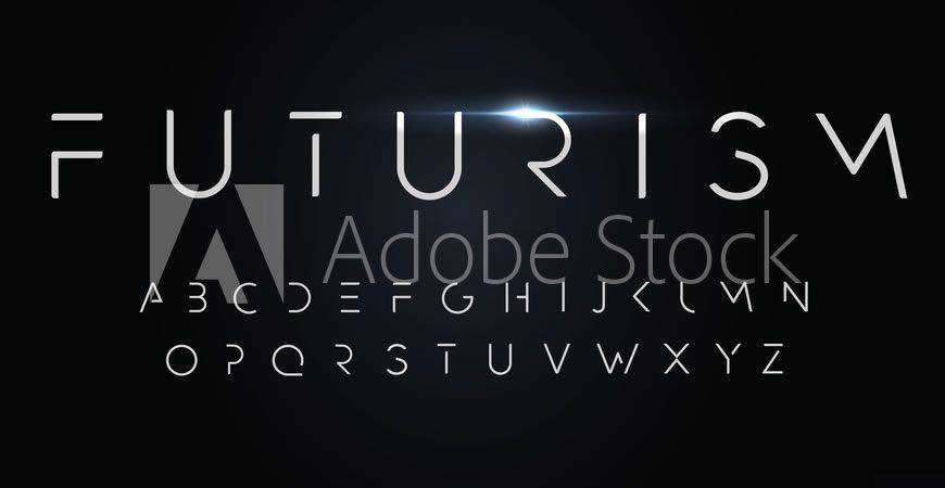 Futurism Minimal logo font typeface logotype