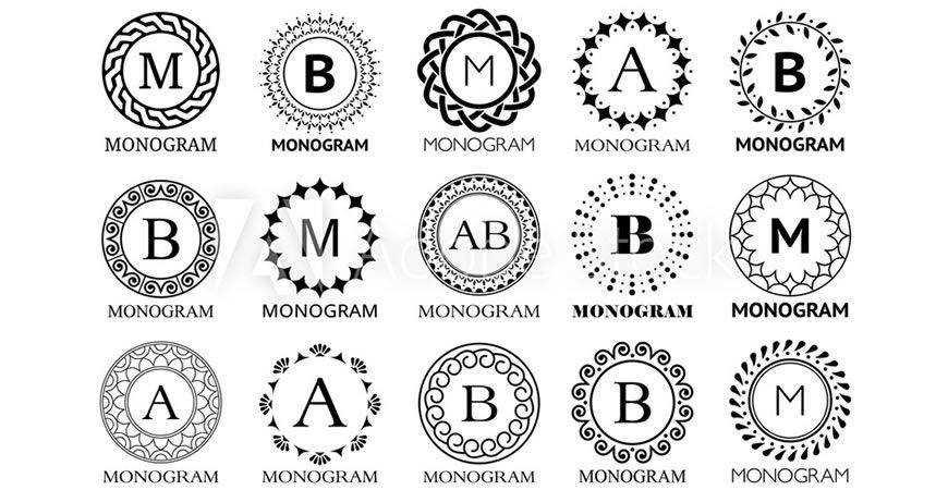 Monogram Alphabet Logo Templates