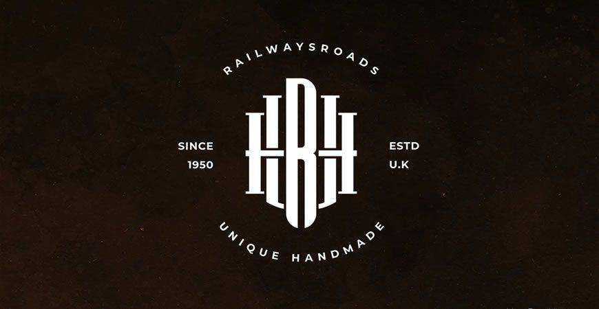 URH Monogram Logo Template