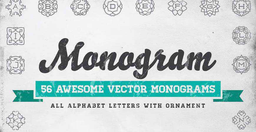 Vector Monogram Logo Templates
