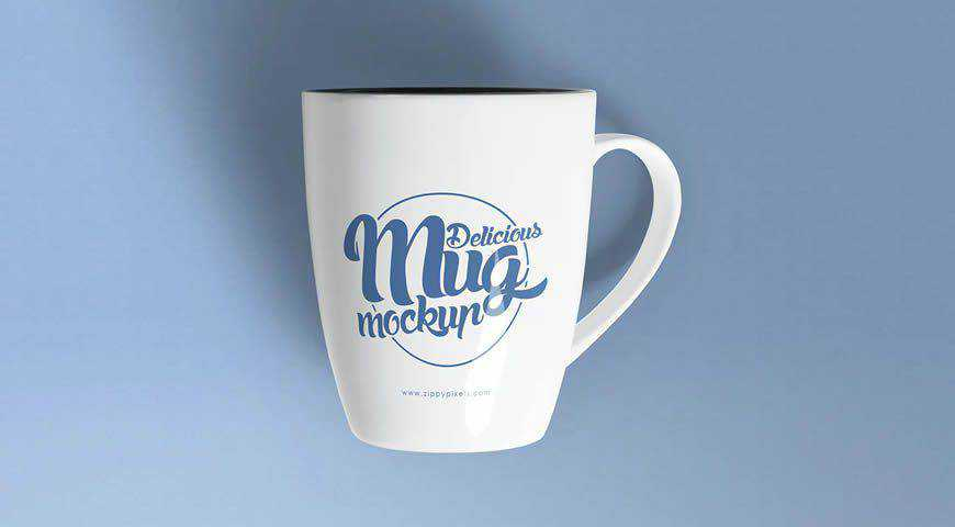 Coffee Mug Photoshop PSD Mockup Template