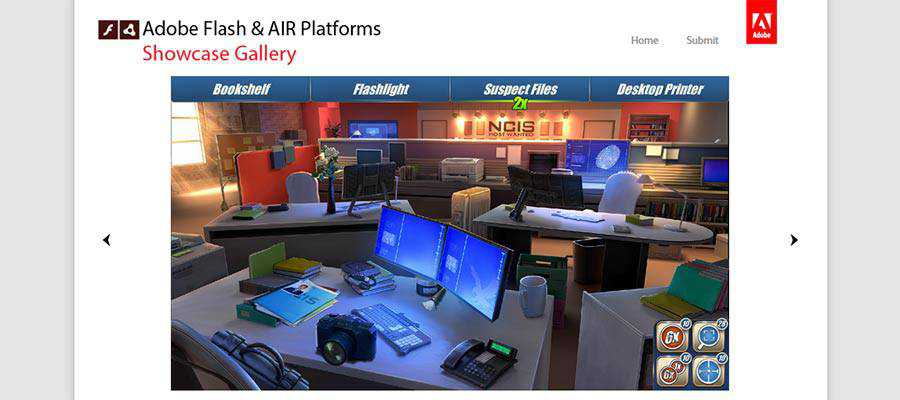 Adobe Flash and Air Platforms Showcase Gallery