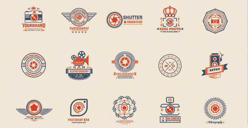 Photography Logo Design Templates photographer camera