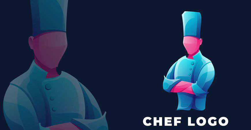 Chef Logo Template restaurant cooking food