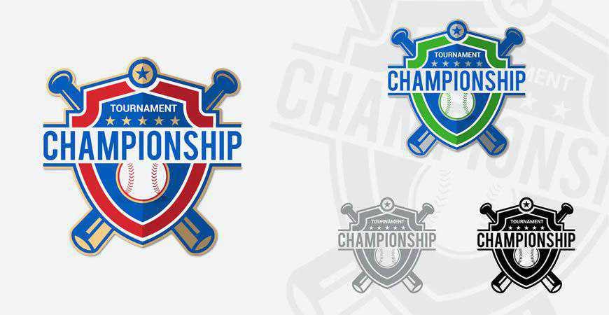 Baseball Champions Logo Templates sport fitness work