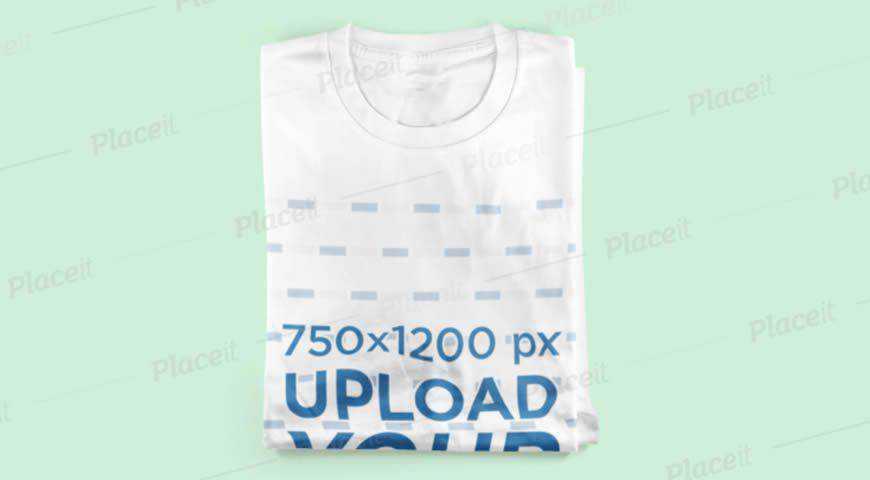Neatly Folded Sweatshirt Photoshop PSD Mockup Template