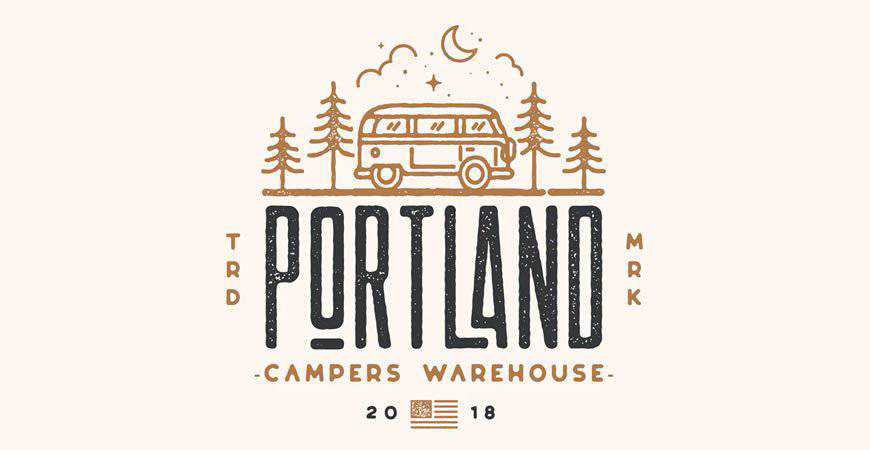 Portland Traveler & Adventure Logo Templates travel holidy vacation