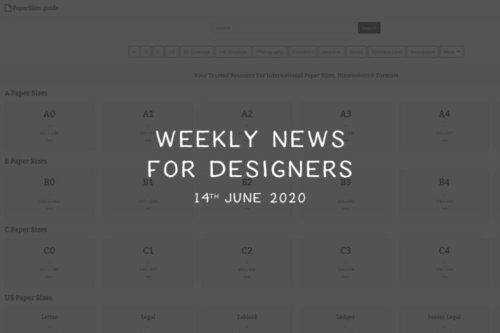 Weekly News for Designers № 544