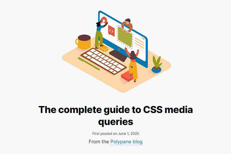 Example of The complete guide to CSS media queries
