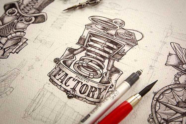 25 Inspiring Examples of Sketching in Logo Design