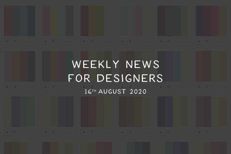 Weekly News for Designers № 553