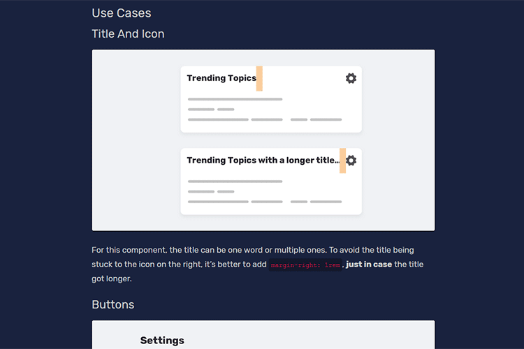 Example from The Just in Case Mindset in CSS