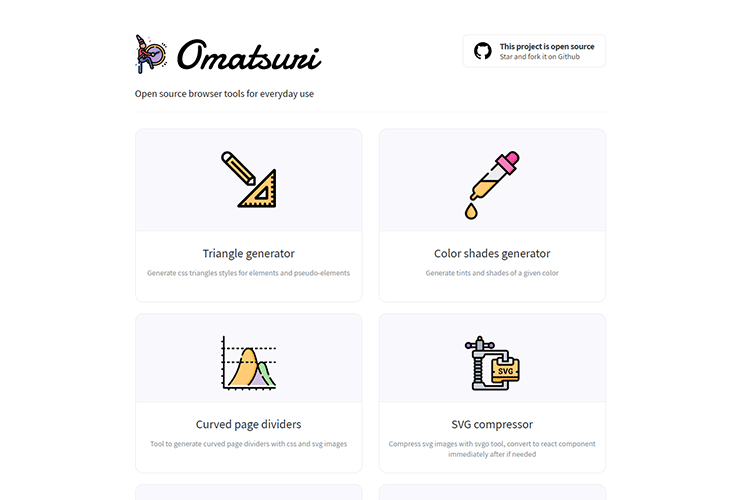 Example from Omatsuri