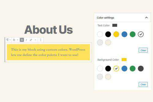How to Create a Custom Color Palette for the WordPress Gutenberg Editor