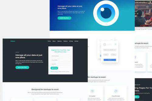 50 Free Responsive HTML Web Templates for 2021